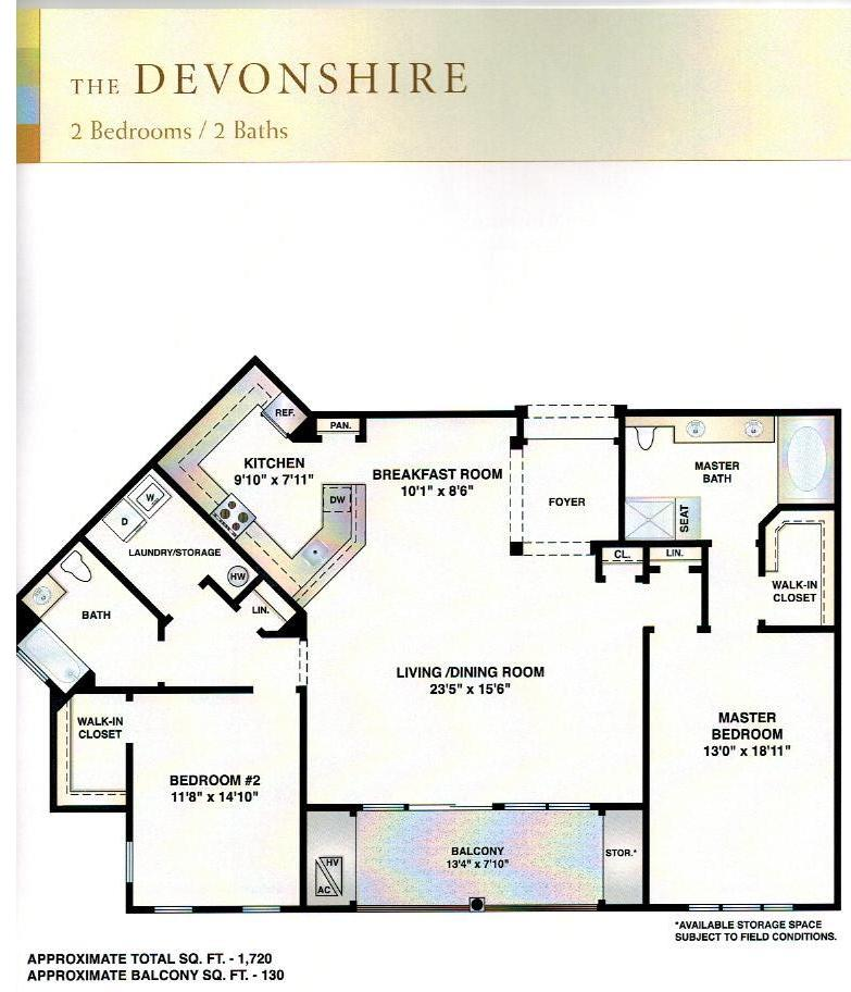 Devonshire new homes monthly for Devonshire floor plan