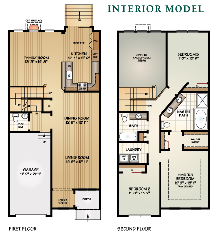 Luxury Townhomes – End Unit
