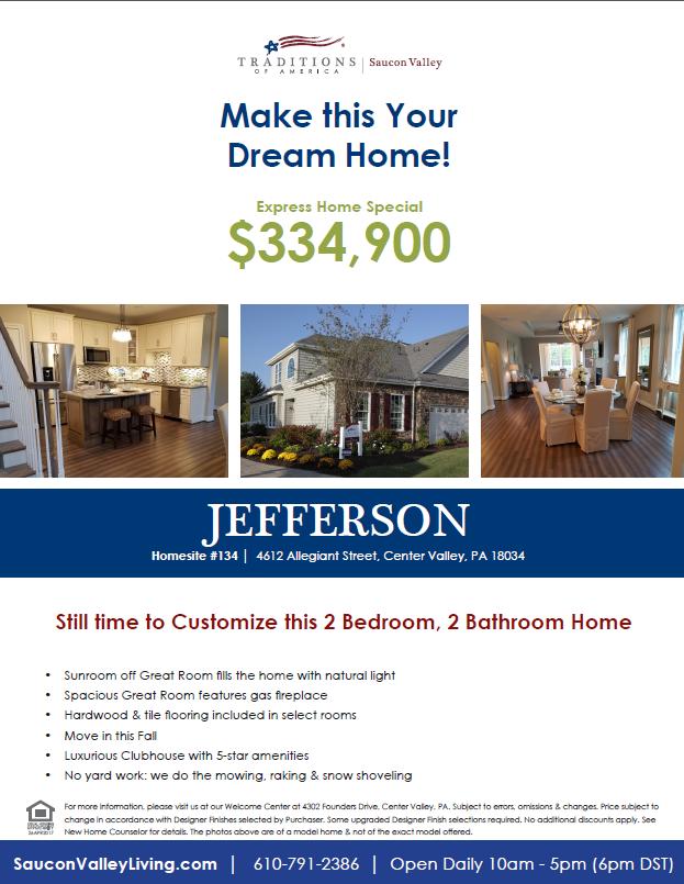 Jefferson – One Story
